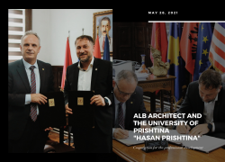 Cooperation agreement between ALB-Architect Company and