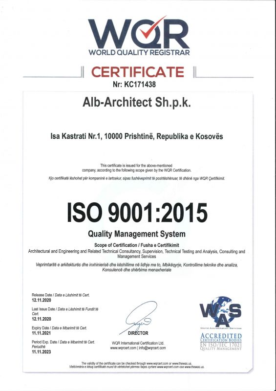 ISO 9001-Quality Management System
